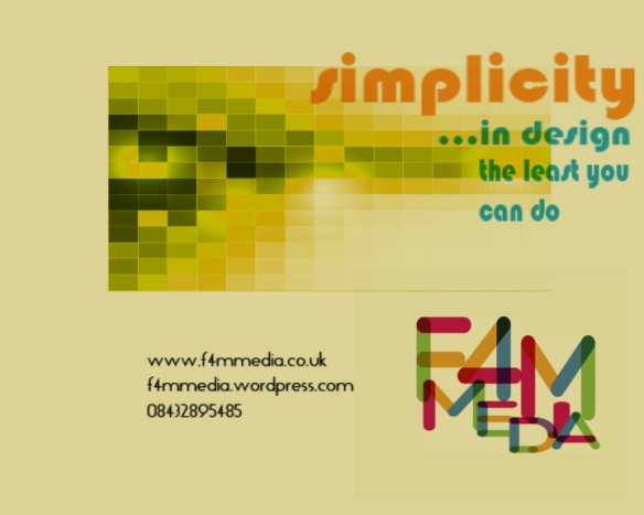f4mmedia simplicity (0-01-41-10)