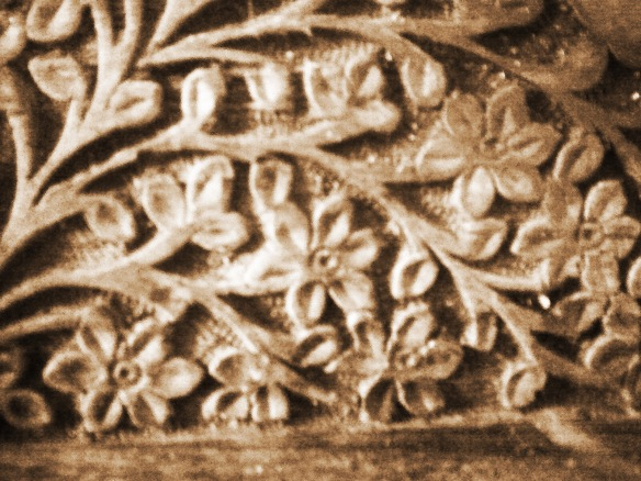 carved texture