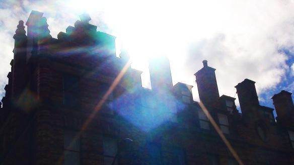 sheffield roof in sunlight 2